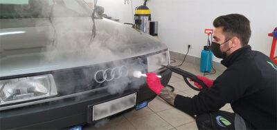 Lavaggio esterno dell'Autovettura - Roma Vapor Wash